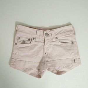 "True Religion ""HAILEY"" Jeans Cut-offs Size 24"